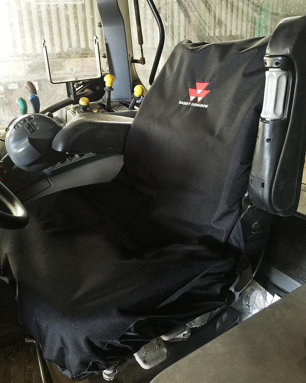 Robuster Traktor Sitzbezug Mit Massey Ferguson Logo Bestickt Auto