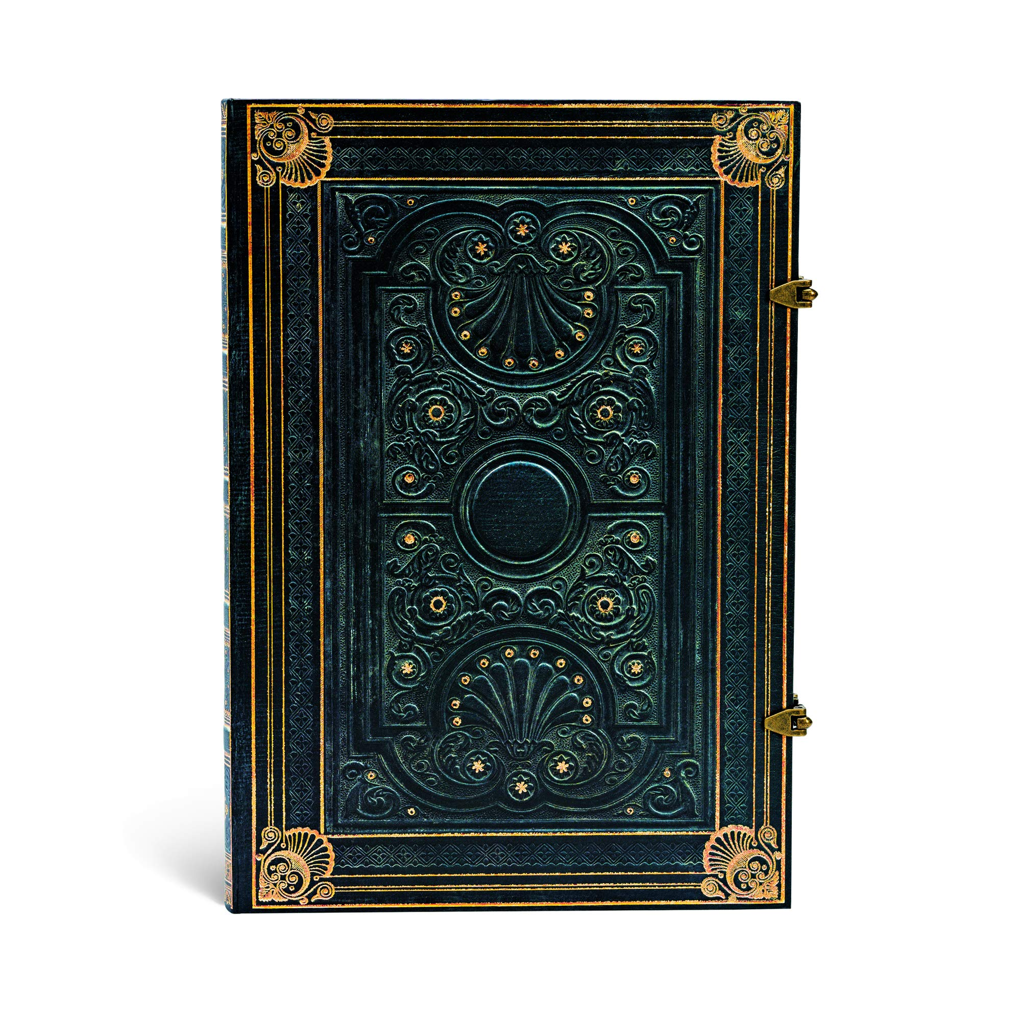 Paperblanks Nocturnelle Grande Lined Journal (240 Pages, 8.25 x 11.75 Inches)