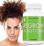 African American Hair Growth Vitamins: Regrow Solutions - Biotin for Hair Growth - Biotin 5000 mcg plus 11 Essential Vitamins for Hair Growth - 100% Money Back Guarantee