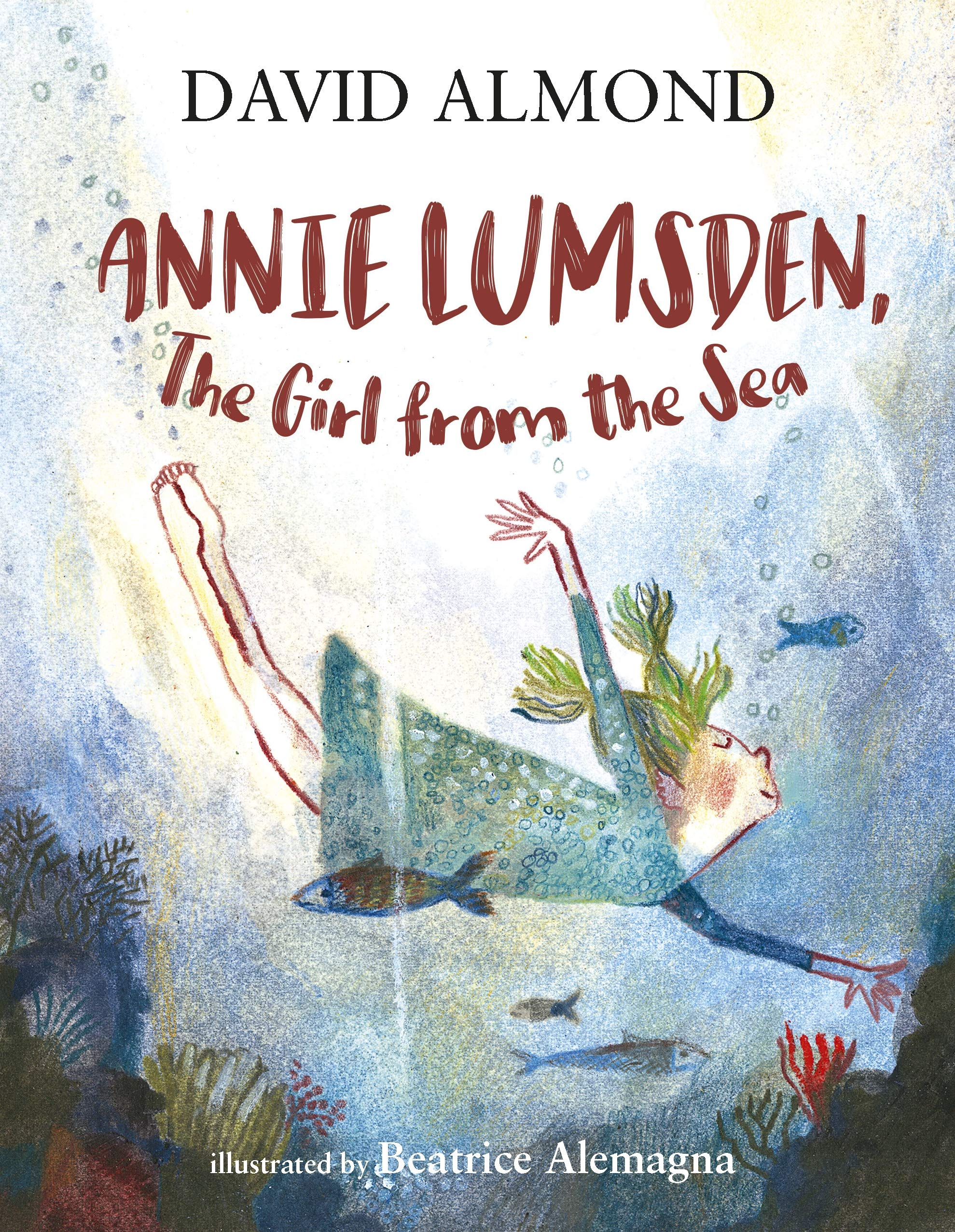 Annie Lumsden, the Girl from the Sea: Almond, David: 9781406377590:  Amazon.com: Books