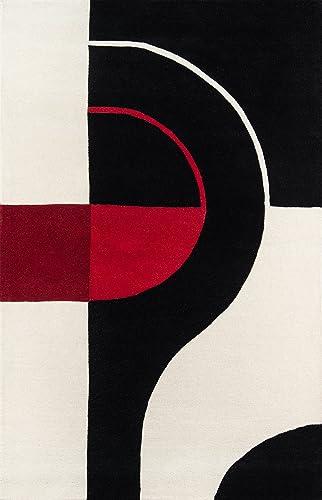 Momeni Rugs Delhi Collection Area Rug, 3 6 x 5 6 , Black