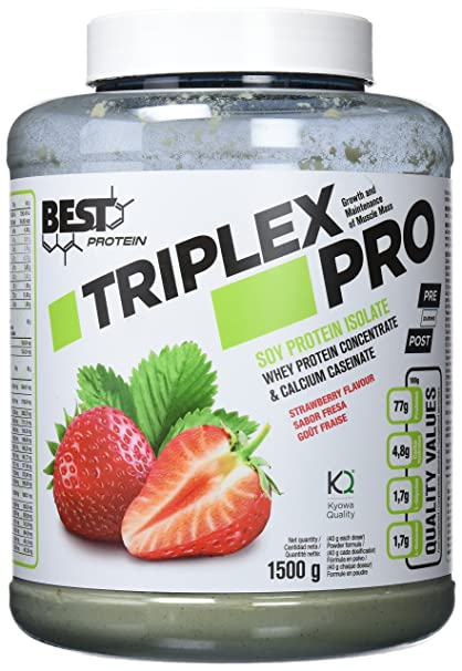 Best Protein Triplex Pro Fresa - 1500 gr