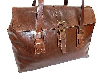 meilleure valeur a3b60 c5bfa The Bridge Classic Marco Polo Weekender sac de voyage cuir ...
