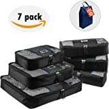 UBAG Travel Packing Cubes – Set of 6 Travel Packing Organizers or Luggage Packing Cubes to Pack it, Unpack & Repack Smartly – Durable & Lightweight – See-Through Mesh – Packing Cubes Value Set