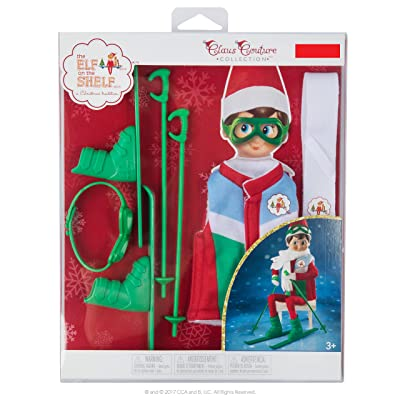 Exclusive 2020 The Elf on the Shelf Claus Couture Collection Arctic Ski Set: Toys & Games