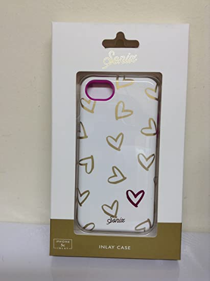 online retailer 714b1 c9399 Lenntek Sonix Gold Heart To Heart Case - iPhone 5c