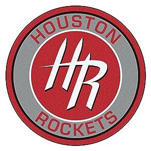 Fanmats 18836 NBA Houston Rockets Roundel Mat