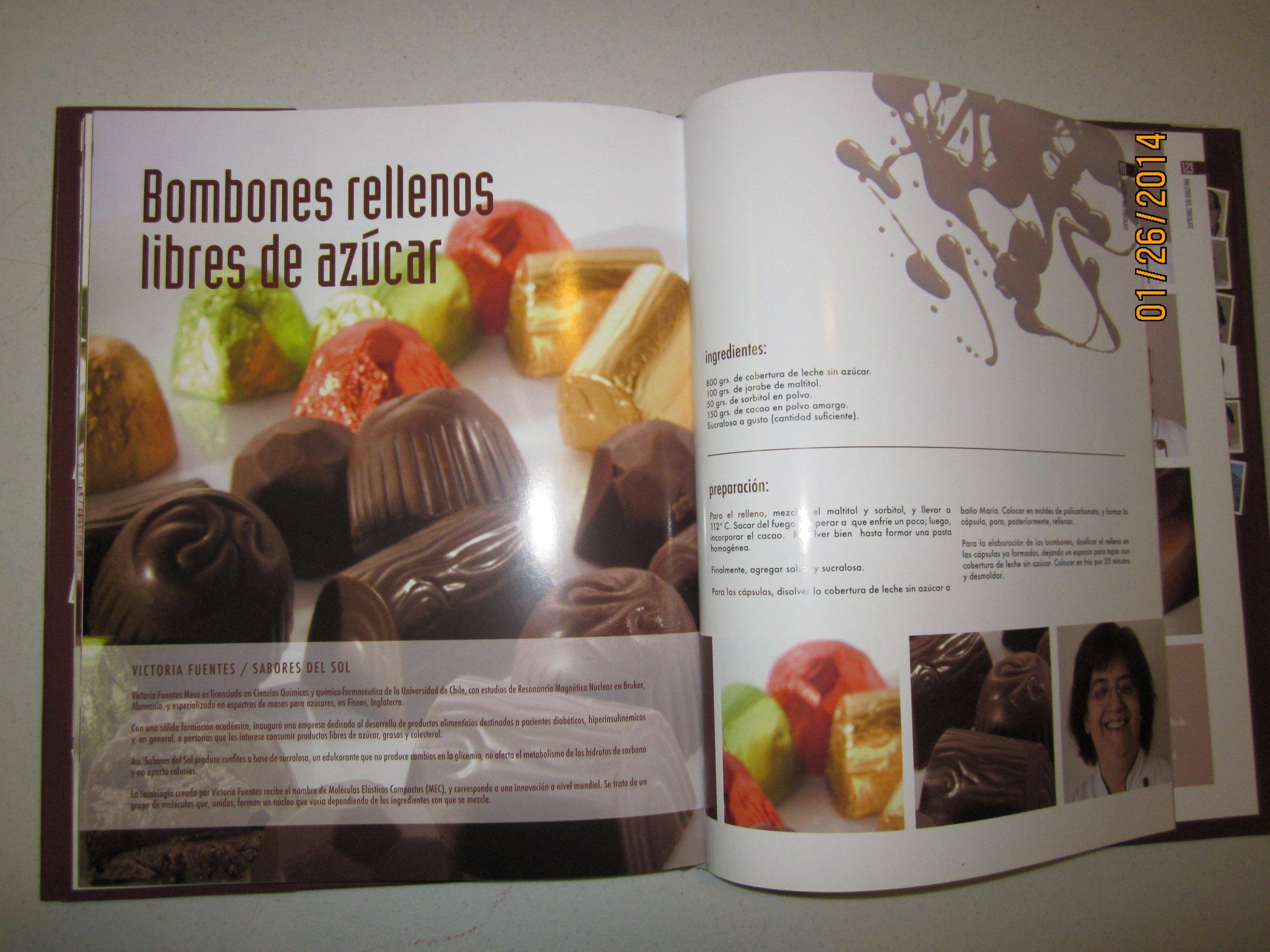 Maestros Del Chocolate - Chile (Maestros del Chocolate una Publicacion de Altara-Mireaux LTDA.): Gonzalo Berdugo, Empresas Carozzi -Chile, Ximena Ramos, ...