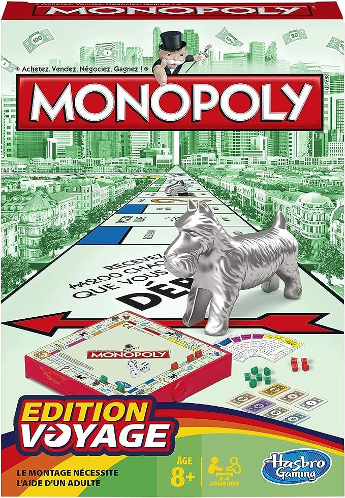 Monopoly - Juego de Mesa de Viaje (versión Francesa): Amazon.es ...
