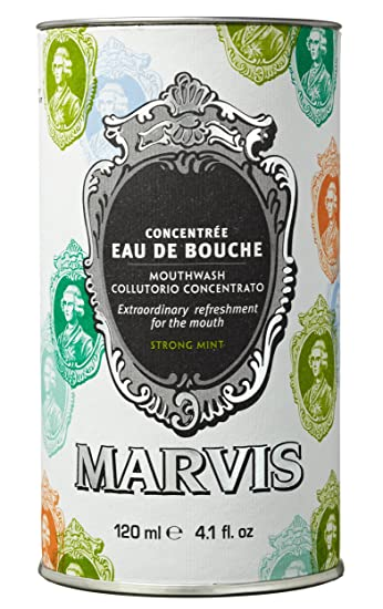 Marvis Strong Mint Mouthwash Concentrate, 4 1 fl oz