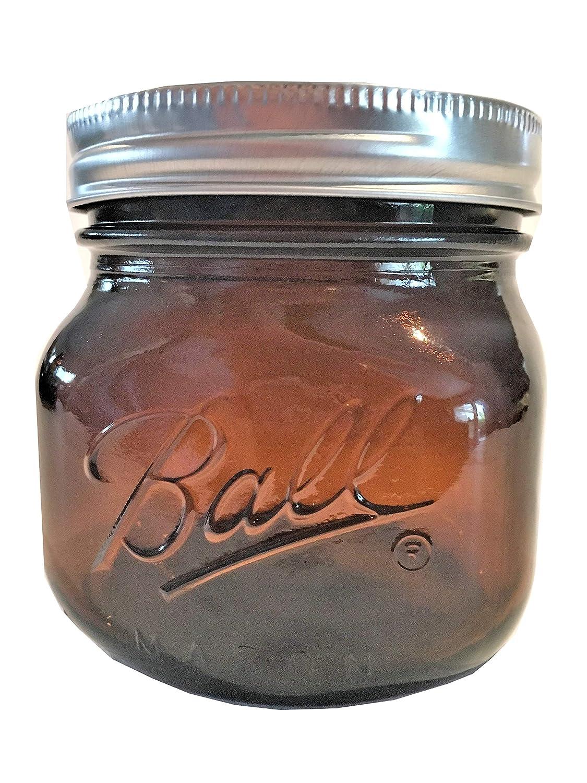 Ball Mason Jar-16 oz. Amber-One Jar-NEW COLOR !!!