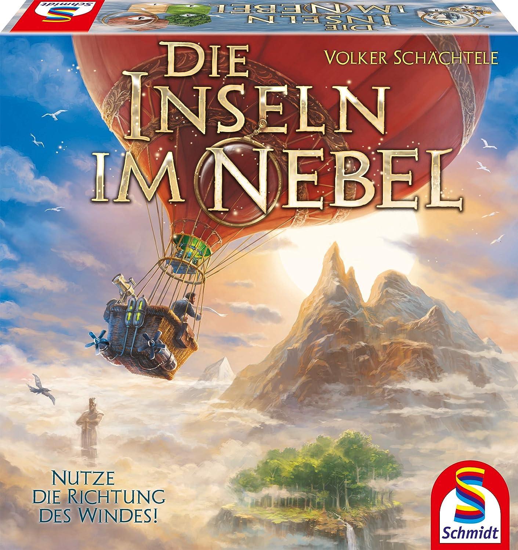 Schmidt Spiele la Inseln im Nebel la Inseln im Nebel 49366: Amazon.es: Juguetes y juegos