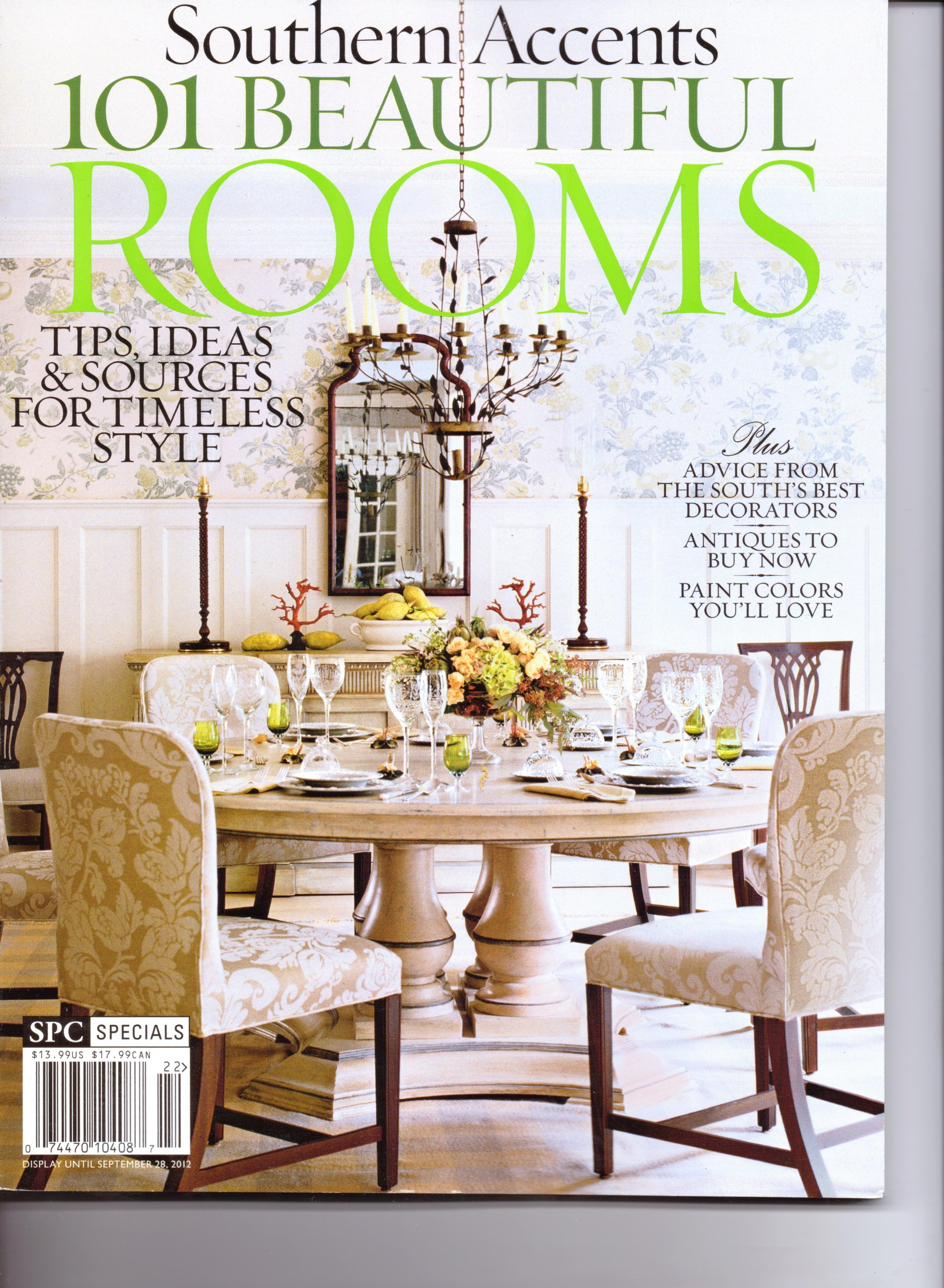 Southern Accents - 101 Beautiful ROOMS Magazine. Special Edition. 2012. ebook