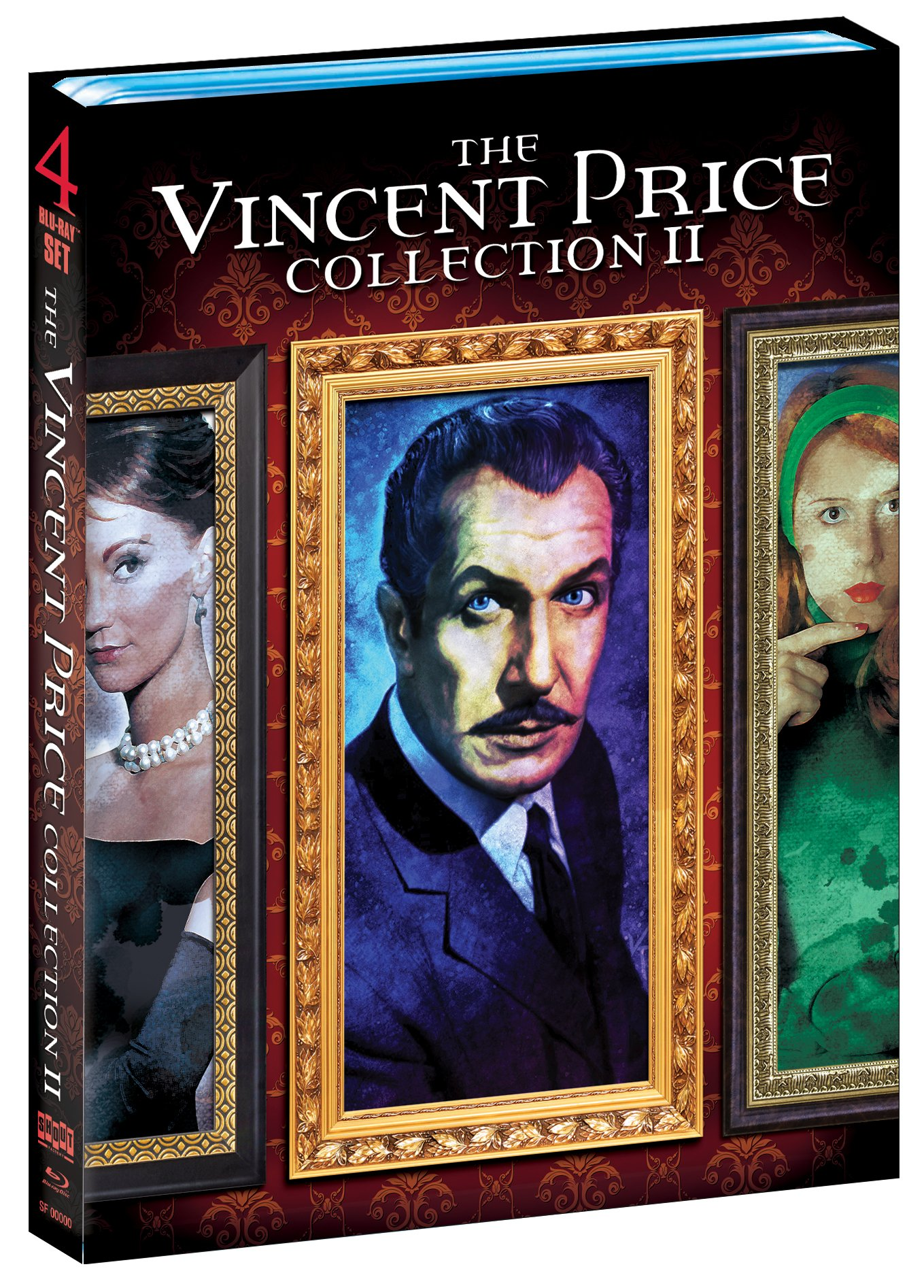 The Vincent Price Collection II [House on Haunted Hill, The Return of the Fly, The Comedy of Terrors, The Raven, The Last Man on Earth, Tomb of Ligeia & Dr. Phibes Rises Again [Blu-ray]