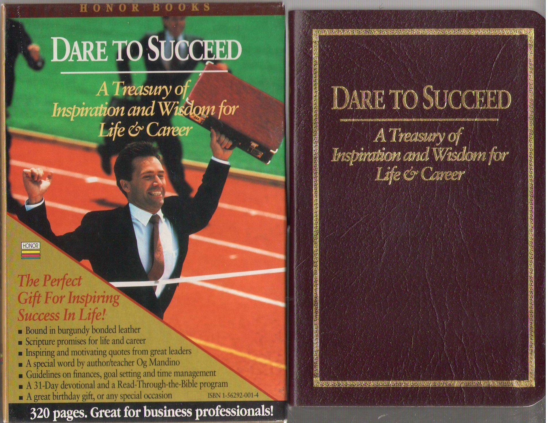 Dare to Succeed: A Treasury of Inspiration and Wisdom for Life and Career:  Honor Books: 9781562920142: Amazon.com: Books
