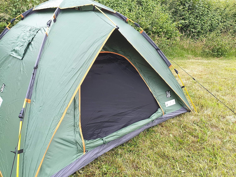 OLPRO 2 Man POP Up Tent 2.1m x 2.1m 2 Berth Pop Up Festival Tent
