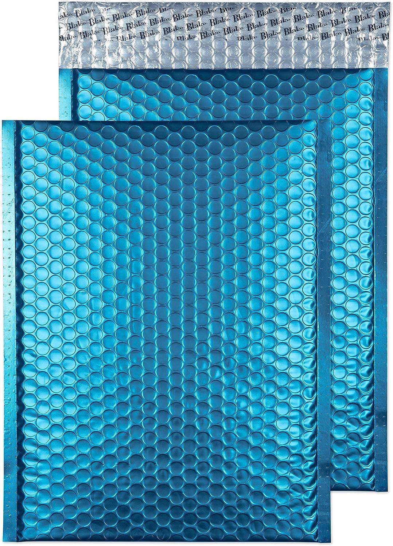 Pack of 100 MTWR250 Bordeaux Blake Purely Packaging C5+ 250 x 180 mm Matt Metallic Padded Bubble Peel /& Seal