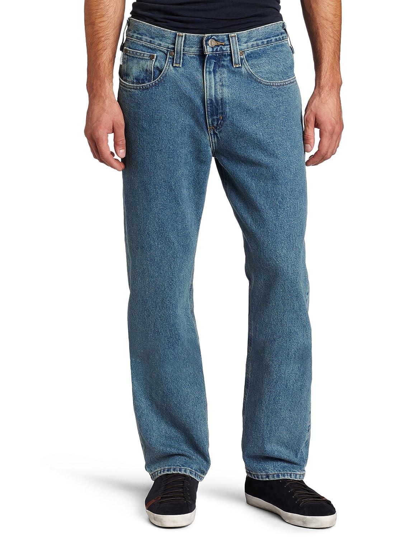 カーハート メンズ トラディショナルフィット デニム 5 ポケット ジーンズ B480 Light Vintage Blue waist44 32 waist44 32Light Vintage Blue B0054452SW
