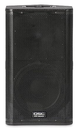 QSC KW122 1000W Negro altavoz - Altavoces (Universal, De 2 vías, 1.0 canales