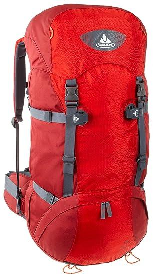 VAUDE Mochila Tour 50-50 litros, rojo/Vid roja: Amazon.es: Deportes y aire libre