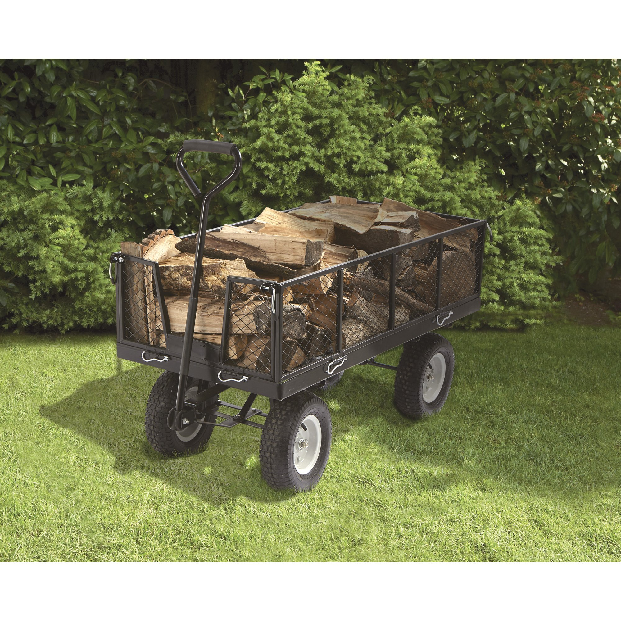 Strongway Jumbo Wagon - 48in.L x 24in.W, 1,400-Lb. Capacity by Strongway