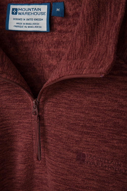 for Winter Mountain Warehouse Snowdon Mens Micro Fleece Pullover