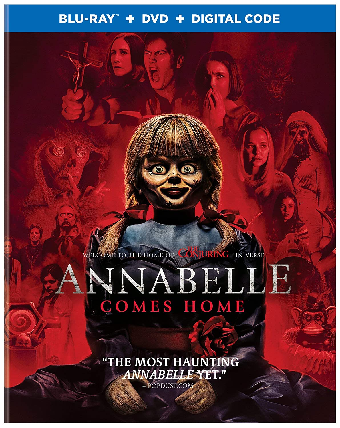 Amazon com: Annabelle Comes Home (Blu-ray + DVD + Digital