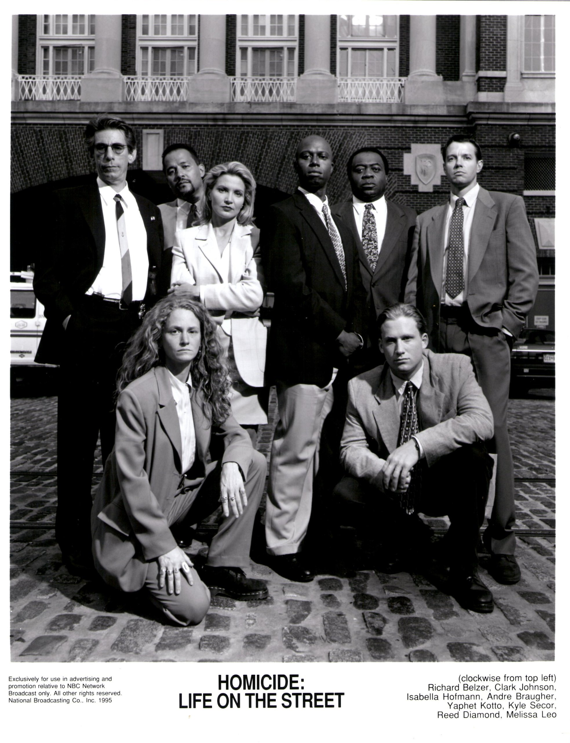 """Homicide: Life On The Street""....T.V. Series....Promotional Photograph:  NBC Network: Amazon.com: Books"