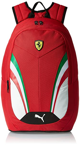 95f41e6189b0 Image Unavailable. Image not available for. Colour  Puma Ferrari 18.5 Ltrs Rosso  Corsa Casual Backpack ...