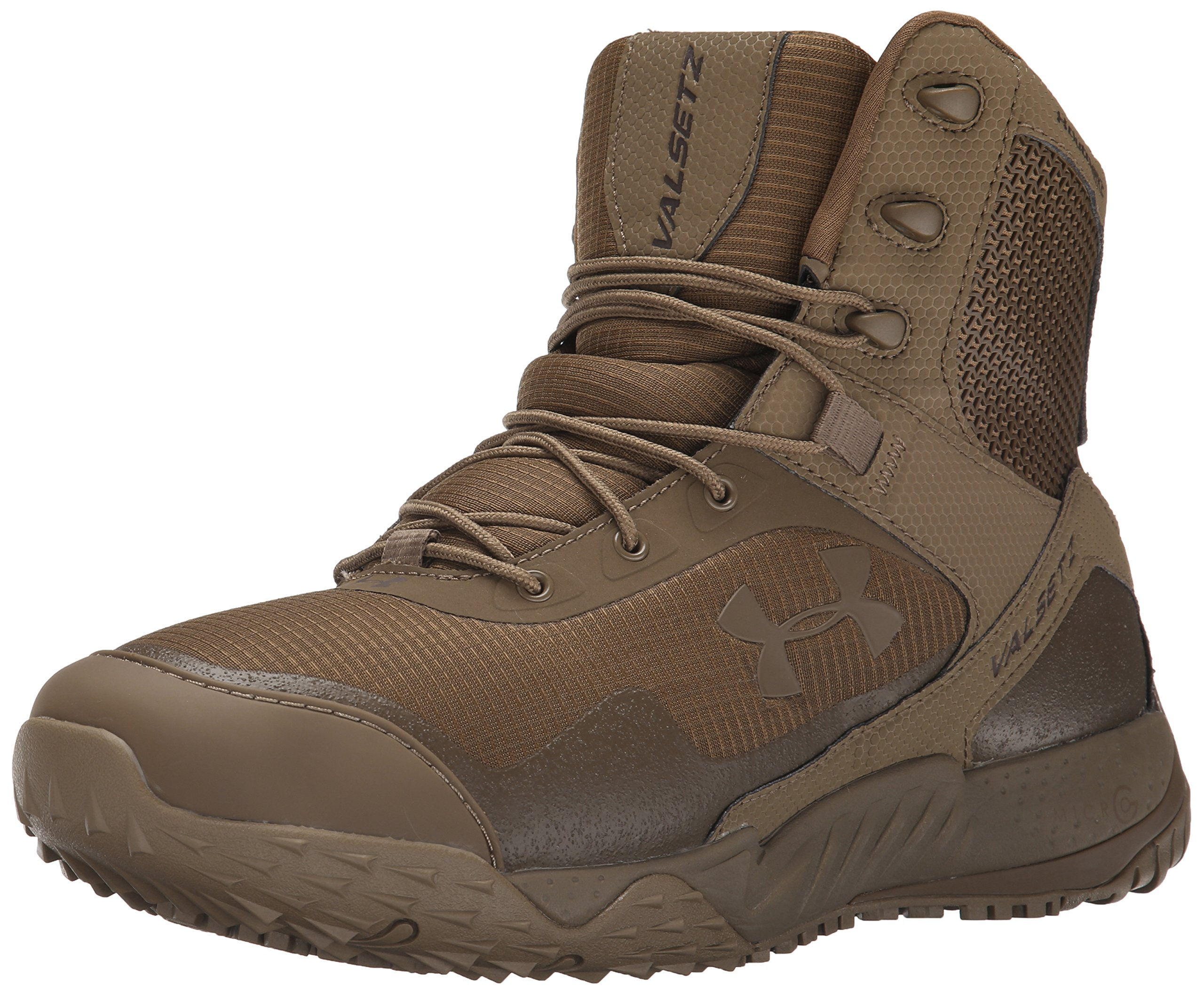 Under Armour Men's Valsetz RTS Military and Tactical Boot, (220)/Coyote Brown, 8