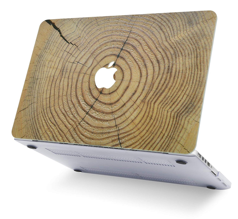 Cuero Marr/ón Funda Dura Case Cover MacBook Pro 13.3 Ultra Delgado Pl/ástico {A1989//A1706//A1708} 2019//2018//2017//2016, Touch Bar KECC MacBook Pro 13 Pulgadas