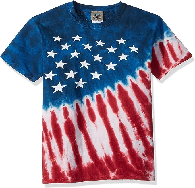 USA United States of America Flag Patriotic Stars Stripes Youth Tee Shirt T