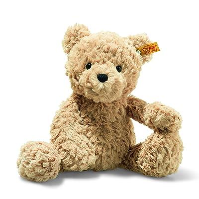 """Steiff Jimmy Teddy Bear 12"""" Soft Cuddly Friends Stuffed Animal: Toys & Games"""
