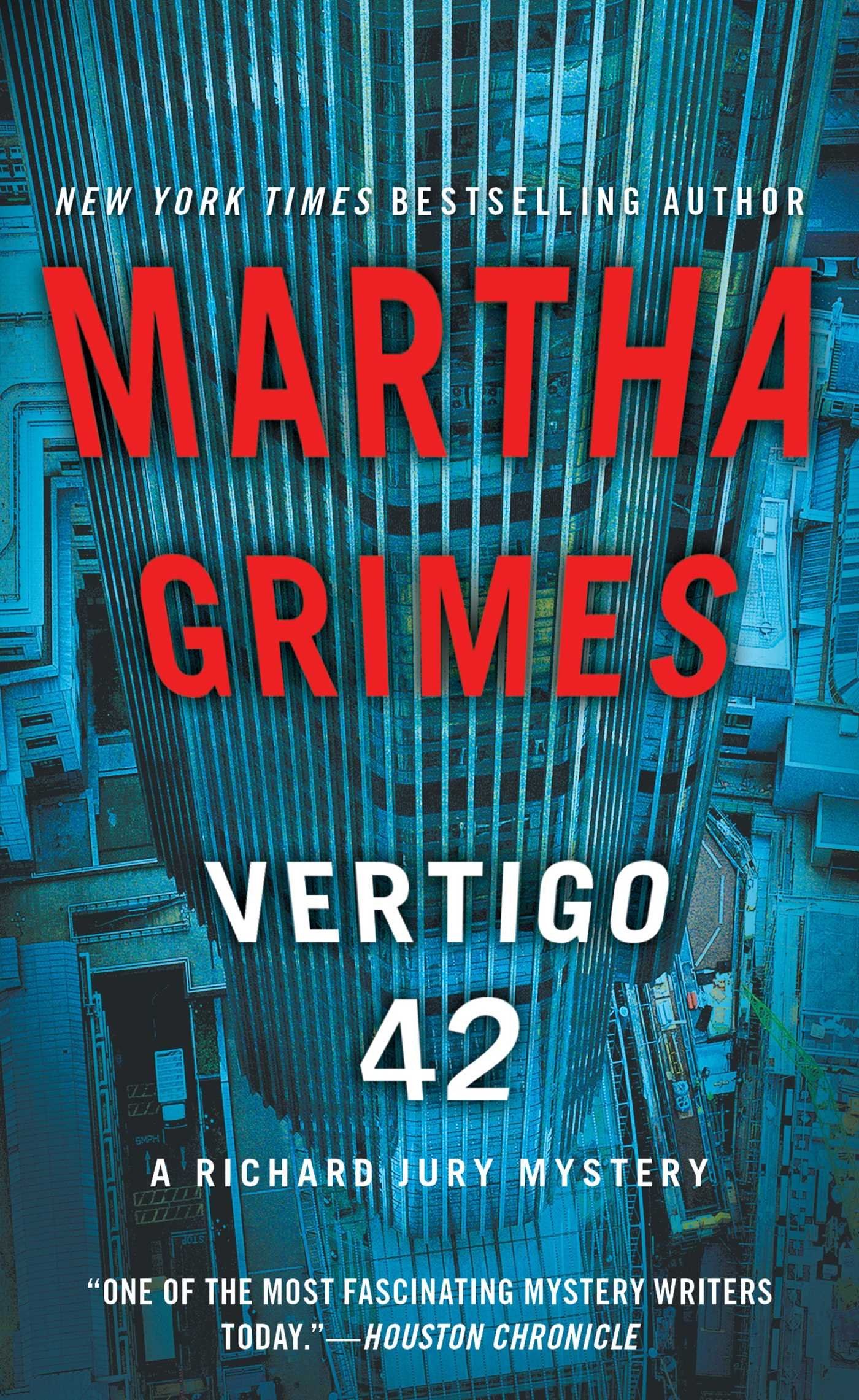 Vertigo 42: A Richard Jury Mystery: Martha Grimes: 9781476724058 ...