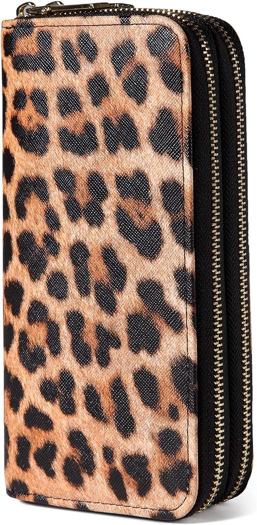Details about  /Carteras De Mujer De Moda Bolsos Monederos Marca Para Damas estampados de animal