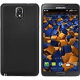 mumbi Schutzhülle für Samsung Galaxy Note 3 Hülle (harte Rückseite) matt schwarz