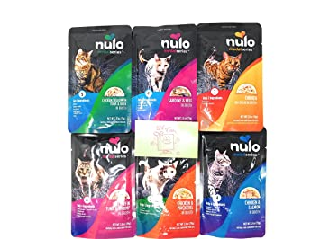 Nulo Medal Series Grain Free Wet Cat Food Pouches Variety Pack 6