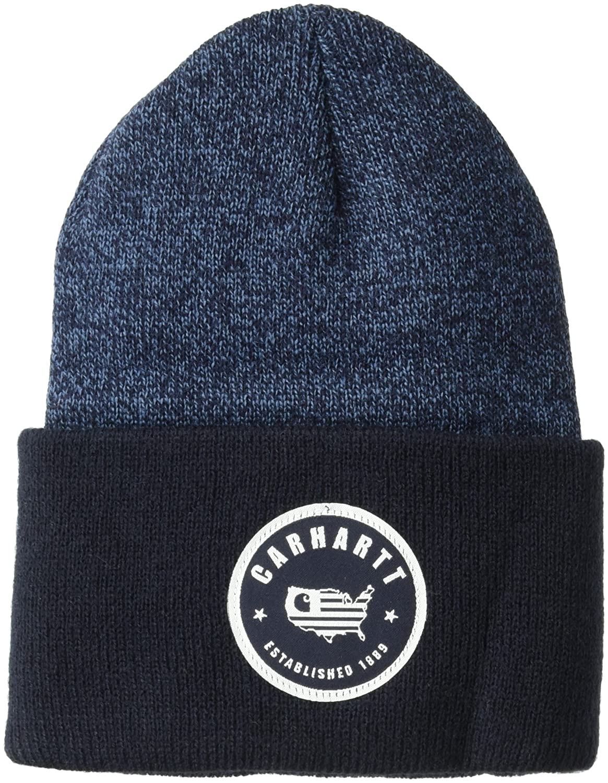 039d6a1404c Amazon.com  Carhartt Men s Americana Acrylic Watch Hat