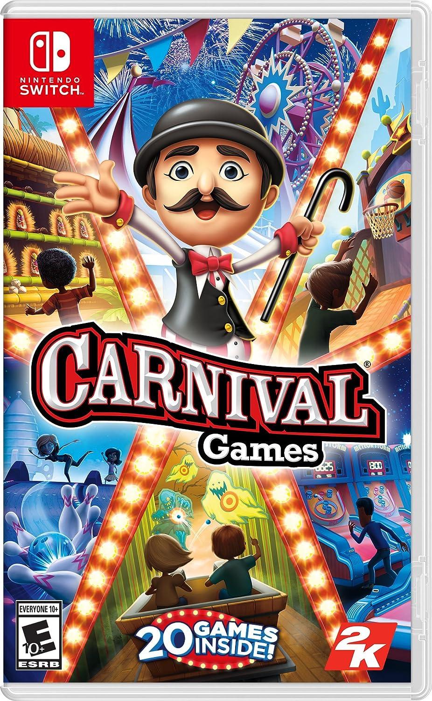 Amazon Com Carnival Games Nintendo Switch Take 2 Interactive