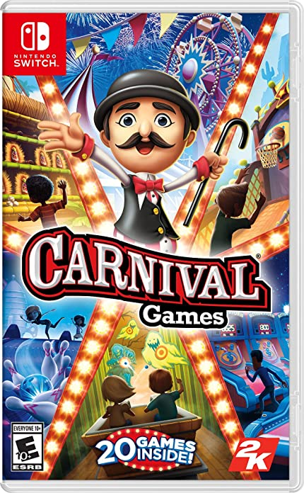 Amazon Com Carnival Games Nintendo Switch Take 2 Interactive