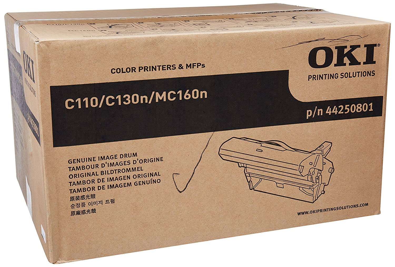 Oki 44250801 Tamburo C110/C130N/MC160N, Nero Cartucce Inchiostroperstampanti Toner