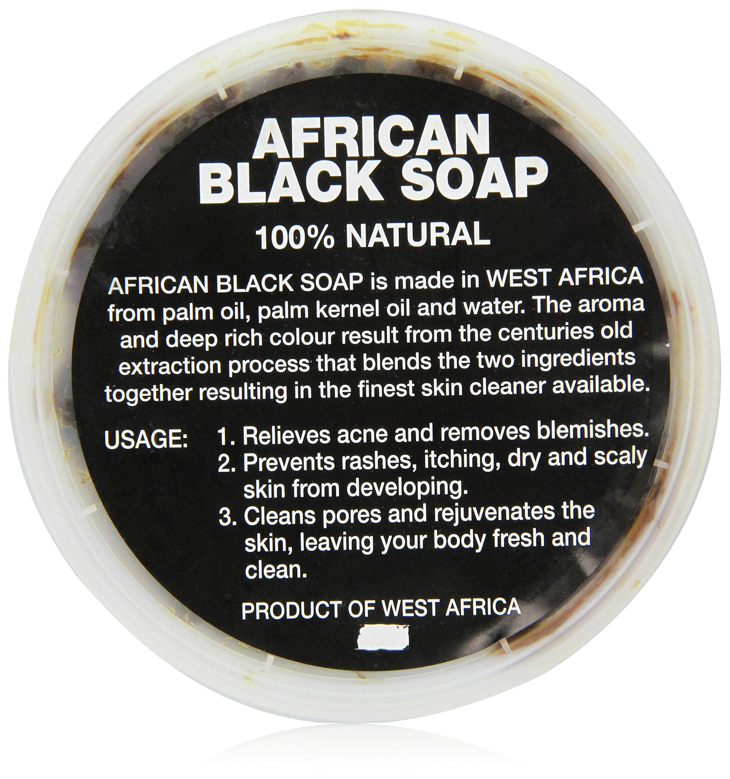 African Black Soap paste 8 oz