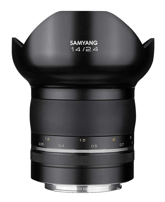 Samyang Premium XP MF Objetivo fotográfico para Canon EF manual focus only