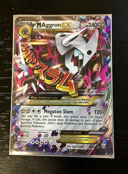 Pokemon Mega Aggron Ex 94 160 Xy Primal Clash Holo