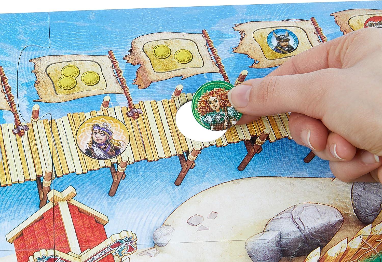 Haba Juego De Mesa El Valle De Los Vikingos Multicolor Habermass H304700 Amazon Es Juguetes Y Juegos