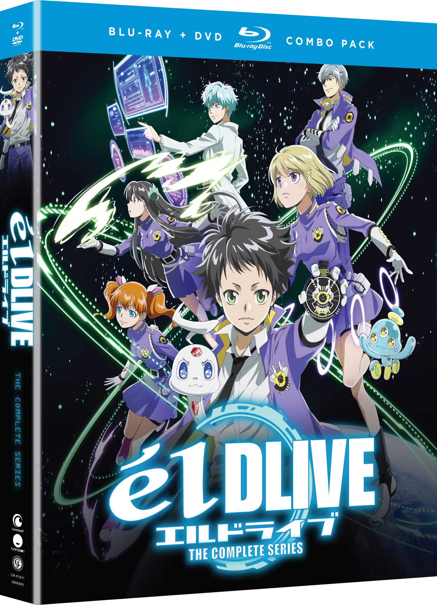 Blu-ray : Eldlive: The Complete Series (With DVD, Boxed Set, Dubbed, Subtitled, 4PC)