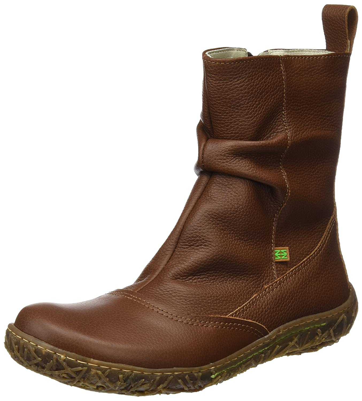 El Naturalista N722 Soft Grain Nido, Botines para Mujer38 EU Marrón (Wood)