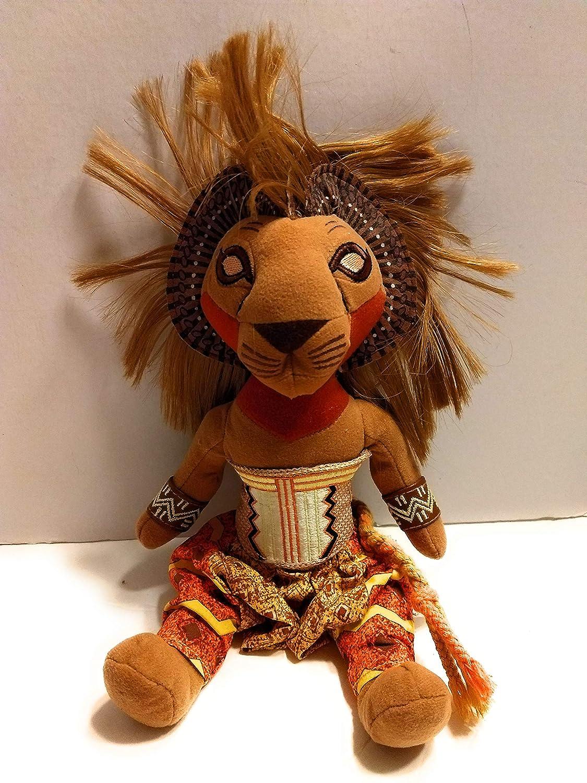 The Broadway Musical Lion Kings Simba Plush Toy