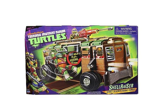 Teenage Mutant Ninja Turtles Shellraiser calle Asalto a la ...
