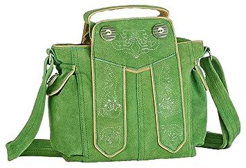 908575f41c2a2 Trachten-Handtasche aus Echtleder